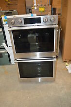 Samsung NV51K7770DS 30  Stainless Double Electric Wall Oven NOB  15801