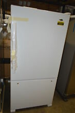 Amana ABB2224BRW 33  White Bottom Freezer Refrigerator NOB  16045 T2