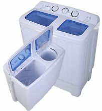 Washer Dryer Combo Portable Washing Machine 17lbs Stackable Cheap NEW Two in One