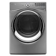 Whirlpool WED94HEAC 27  Chrome Shadow Front Load Electric Dryer NIB  9303