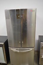 LG 30  LFC20770ST 19 7 cu  ft Stainless Steel French Door Refrigerator NOB  5444
