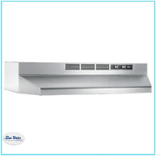 Oven Range Hood 30 in  Non Vented Stainless Steel Over Stove Lighting