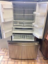 New GE French Door Refrigerator Freezer