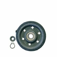 MIELE TUMBLE DRYER DRUM SUPPORT IDLER PULLEYS 1715624 GENUINE PARTS