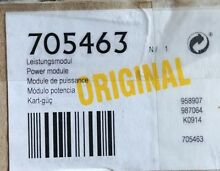 5D NEW 00705463 Bosch Thermador Power Module 705463  WAS20160UC