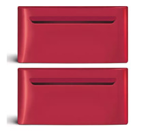 Frigidaire CFPWD15R 15  Classic Red Laundy Pedestal w Drawer Set of 2 NIB