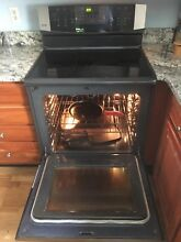 Kenmore Elite stainless steel silver electric stove range in great shape