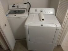 Maytag washer and dryer set excellent working  condition