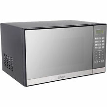 Powerful NEW Oster 1 3 cu  ft  1000W Microwave Oven with Built In Grill Rack