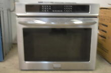 Frigidaire Gallery FGMC3065PF 30  Stainless Wall Oven NEW   OOB  11170