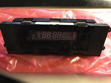 Clock   Control Display for GE Profile Stove  Free Shipping  Great for Parts