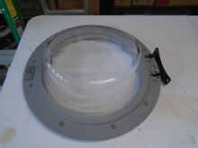 Samsung Washer Door Assembly  Part   DC97 15867B from a model WF220ANW 0001