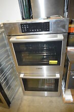 Bosch HBN8651UC 27  Stainless Double Electric Wall Oven NOB  19551
