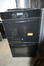 GE PK7500DFBB 27  Black Double Electric Wall Oven NOB  19552