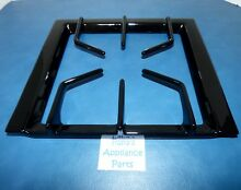 NEW GENUINE OEM JENN AIR 71001757 COOKTOP GAS SURFACE BURNER GRATE SHINY BLACK