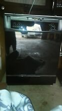 GE DISHWASHER  BRAND NEW   NEVER USED  BLACK  BUILT IN STANDARD SIZE  24 CU FT