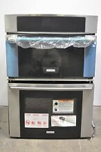 Electrolux Wave Touch EW30MC65JS 30  Stainless Microwave Combination Wall Oven