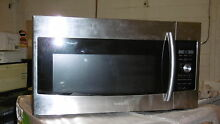 Samsung ME179KFETSR 30  Stainless OTR Microwave with Convection NOB  13204
