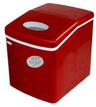 NewAir AI 100R 28 Pound Portable Ice Maker in Red