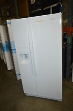 Whirlpool WRS322FDAW 33  White Side by Side Refrigerator NOB  19618 T2
