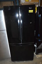 Whirlpool WRF560SMYB 30  Black French Door Refrigerator NOB  19743 T2