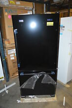 Maytag MBF1958FEB 30  Black Bottom Freezer Refrigerator NOB T2  19747