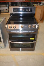 LG LDE4413BD 30  Black Stainless Dual Oven Electric Range NOB  19855