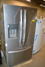 Whirlpool WRF555SDFZ 36  Stainless French Door Refrigerator NOB  20050 T2