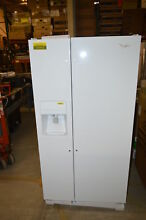 Whirlpool WRS322FDAW 33  White Side by Side Refrigerator NOB  20063 T2