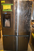 Samsung RF263TEAESG 36  Black Stainless French Door Refrigerator NOB  13027