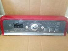 MAYTAG BRAVO WASHER CONSOLE   CONTROL BOARD  RED  PART  W10110212 W10258436