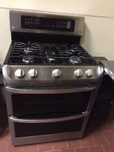 Lg 6 9CF DBL OVEN GAS RANGE  LDG4315ST  With 3Y Protection Plan