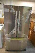 Whirlpool WRF540CWBM 36  Stainless French Door Refrigerator CD NOB T2  20502