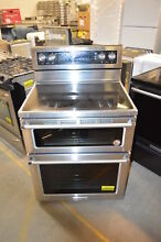 KitchenAid KFED500ESS 30  Stainless Double Oven Electric Range NOB  21351 T2