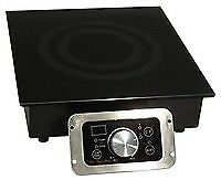 1800W Commercial Induction  Built In