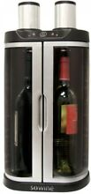 Wine Bar 2 Independent Chambers Preserves Open Bottles Removes Oxygen Well Made