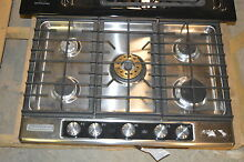 KitchenAid KFGU706VSS 30  Stainless Built In Gas Cooktop NOB T 2  15668