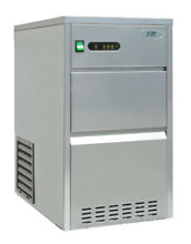 Automatic Stainless Steel Ice Maker By Sunpentown