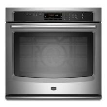 Maytag MEW9527AS 27  Stainless Single Electric Wall Oven NIB  9513 T2