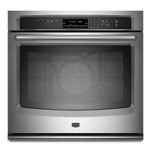Maytag MEW9527AS 27  Stainless Single Electric Wall Oven NIB  9512 T2
