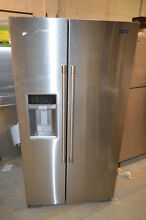 Maytag MSS26C6MFZ 36  Stainless Side by Side Refrigerator NOB T2  21955