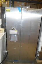 Whirlpool WRS325FDAM 36  Stainless Side By Side Refrigerator NOB  18389 T2