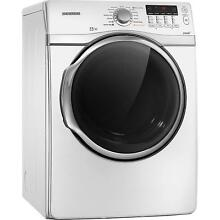 Samsung DV431AGW 27  White Front Load Steam Gas Dryer NIB  9675