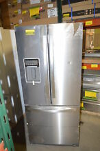 Whirlpool WRF560SEYM 30  Stainless French Door Refrigerator NOB T2  22762