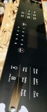 Electrolux 808349003 touch oven control panel   black