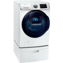 Front Load Washer 5 0 cu  ft  High Efficiency with Steam White By Samsung