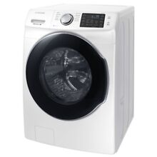 Front Load Washer 4 5 cu  ft  High Efficiency with Steam in White  ENERGY STAR