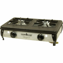 Camp Stove Ranger II Double Burner Table Top Cooking Lightweight Compact Cook