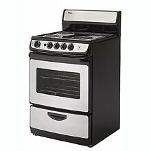 Danby 2 14 Cubic Feet Compact Freestanding Electric Range Oven  Stainless Steel