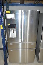 Samsung RF28HMEDBSR 36  Stainless 4 Door French Door Refrigerator NOB  13033